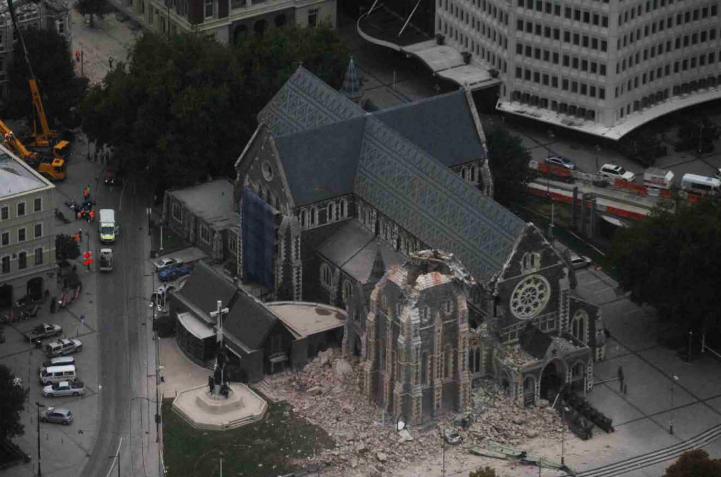 The Christchurch earthquake, NZGOAL and Creative Commons