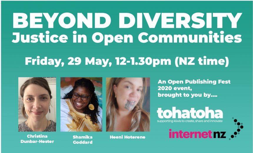 Beyond Diversity: Justice in Open Communities
